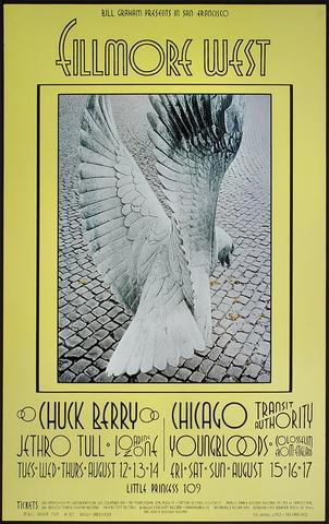 Chuck Berry Handbill