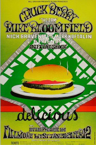 Mike Bloomfield Poster