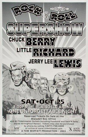 Chuck Berry Poster
