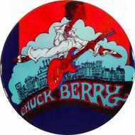 Chuck Berry Retro Pin