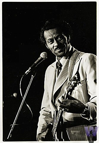 Chuck Berry Vintage Print