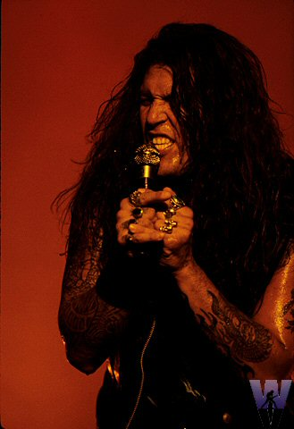 Chuck Billy BG Archives Print