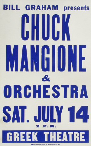 Chuck Mangione and His OrchestraPoster