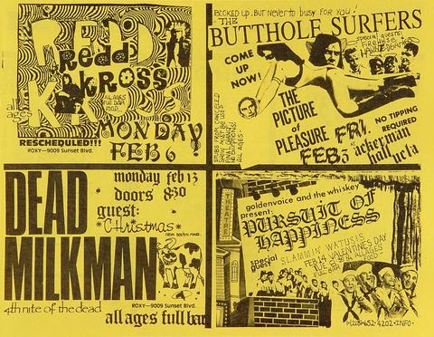 Circle Jerks Handbill