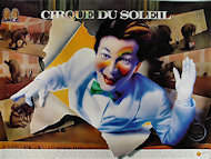 Cirque du Soleil 1987-1988 Quebec/California Tour Poster