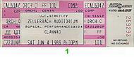 Clannad 1980s Ticket