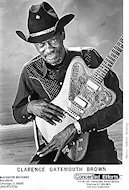 Clarence &quot;Gatemouth&quot; Brown Promo Print
