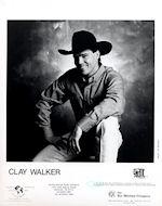 Clay Walker Promo Print