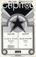 Climax Blues Band Program