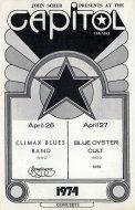 Climax Blues Band Program