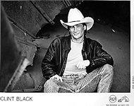 Clint Black Promo Print