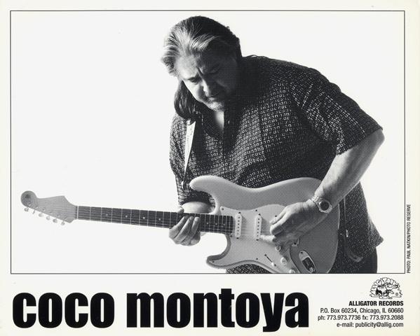 Coco MontoyaPromo Print