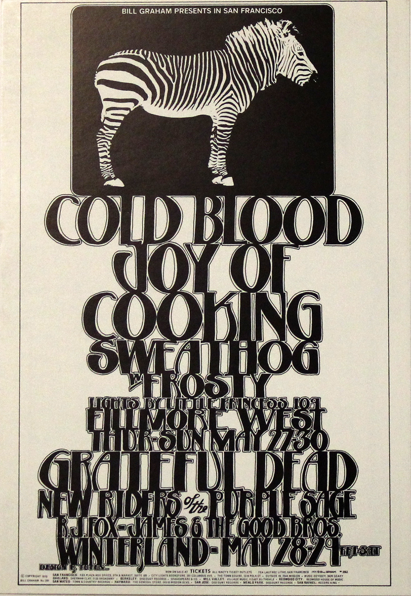 Cold Blood Handbill