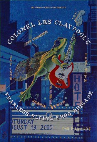 Colonel Les Claypool's Fearless Flying Frog Brigade Poster