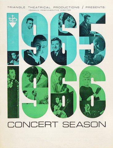 Concert Season Program