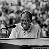 Memphis Slim concert at Newport Jazz Festival on 01 Jul 65