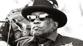 John Lee Hooker at Shoreline Amphitheatre on Oct 10, 1992