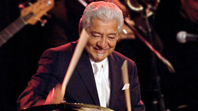 Pete Escovedo at Gift Center on May 29, 1989