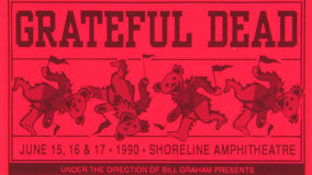 Grateful Dead at Shoreline Amphitheatre on Jun 15, 1990