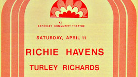 Turley Richards at Berkeley Community Theatre on Apr 11, 1970