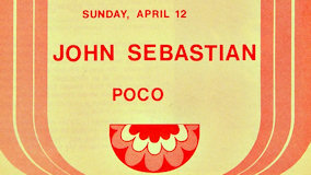 John Sebastian at Berkeley Community Theatre on Apr 12, 1970