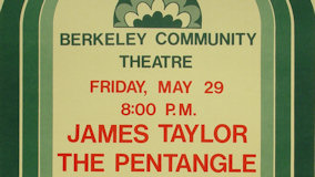 James Taylor at Berkeley Community Theatre on May 29, 1970
