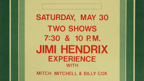 Jimi Hendrix Experience at Berkeley Community Theatre on May 30, 1970