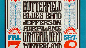 Jefferson Airplane at Winterland on Oct 8, 1966