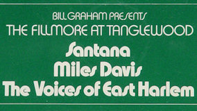 Santana at Tanglewood on Aug 18, 1970
