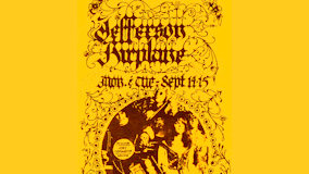 Jefferson Airplane at Fillmore West on Sep 14, 1970