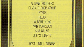The Allman Brothers Band at Fillmore East on Sep 23, 1970