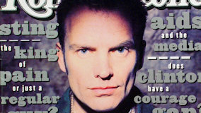 Sting at Sam Boyd Stadium on May 16, 1993