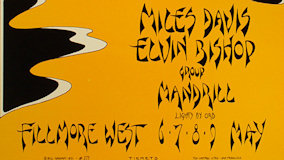 Elvin Bishop Group at Fillmore West on May 7, 1971