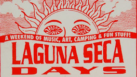 Widespread Panic at Laguna Seca Raceway on May 28, 1995