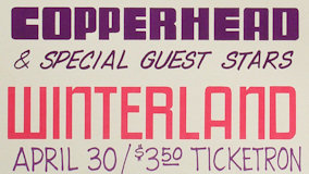 Copperhead at Winterland on Apr 30, 1972