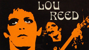 Lou Reed at Rainbow Theatre on Oct 5, 1973