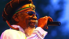 Bunny Wailer at Madison Square Garden on Aug 16, 1986