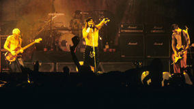 Red Hot Chili Peppers at Ritz on Dec 9, 1991