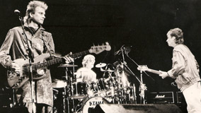 The Police at Memorial Auditorium on Feb 22, 1984