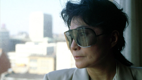 Yoko Ono at Hamburg, Germany on Mar 12, 1986