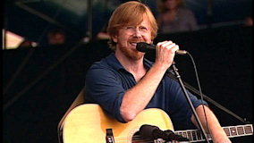 Trey Anastasio at Newport Folk Festival on Aug 2, 2008