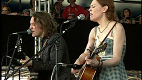 Gillian Welch at Newport Folk Festival on Aug 3, 2008