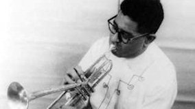 Dizzy Gillespie at Newport Jazz Festival on Jul 3, 1959