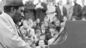 Thelonious Monk at Newport Jazz Festival on Jul 3, 1959
