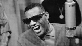 Ray Charles at Newport Jazz Festival on Jul 2, 1960