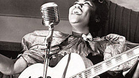 Sister Rosetta Tharpe at Newport Jazz Festival on Jul 3, 1964