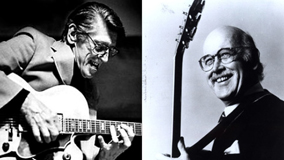 Jim Hall and Tal Farlow at Central Park on Jun 30, 1973