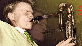 Gerry Mulligan Big Band at Newport Jazz Festival on Jul 1, 1960