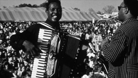 Clifton Chenier at Beauregard Square on Apr 23, 1970