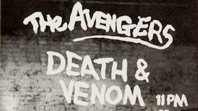 The Avengers at Winterland on Jan 14, 1978